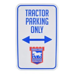 Tractor Parking Sign