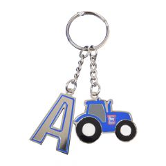 Initial Tractor Keyring