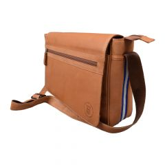 UEFA Cup 40 Year Leather Messenger Bag