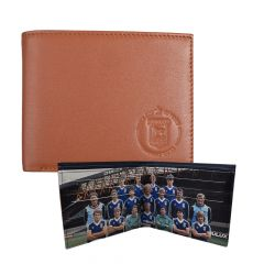 UEFA Cup 40 Year Leather Wallet
