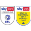 EFL L1 Sleeve Badges