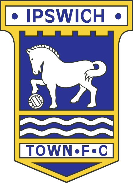 Ipswich Town FC Yellow Club Crest